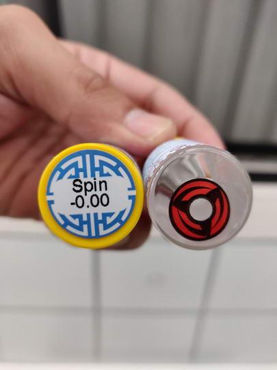 Spin (Kakashi) bigeye